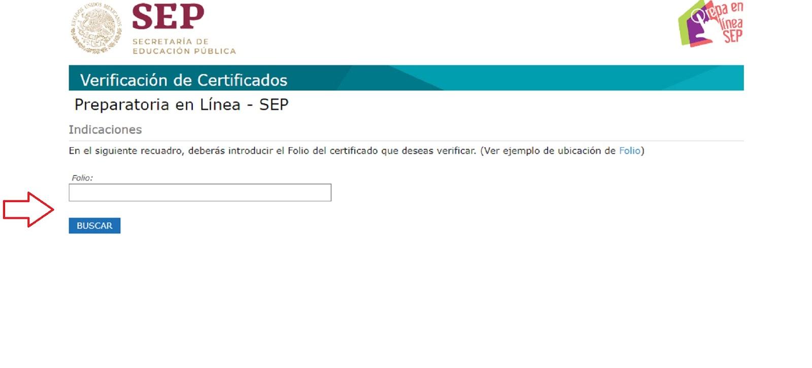 Página Para Averiguar Certificado De Bachillerato