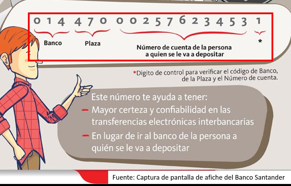 Cómo Saber Mi Clabe Interbancária De Santander